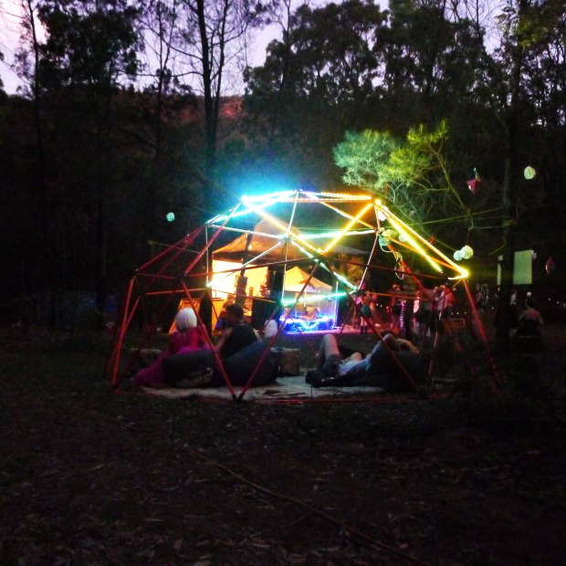 Our first dome event