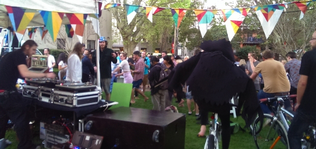 surry hills fest bicycle power party