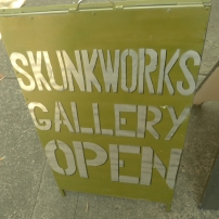 Skunkworks gallery open