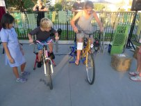 pedal powered event by children