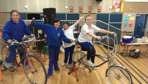 bicycle generator primary school kids
