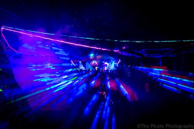 lazers at ACACIA stage