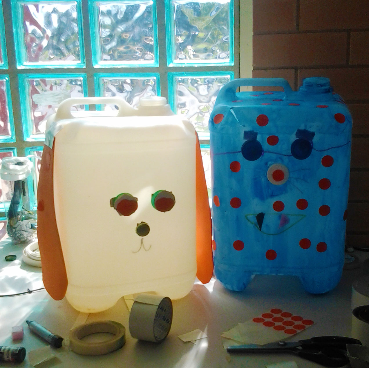 Awesome local artists milkcrate events for Creative waste material recycling